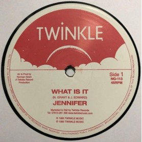 "(12"") JENNIFER - WHAT IS IT / DO HIS WORKS"