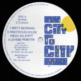 "(12"") LEVI RUBIE - MISTY MORNING"