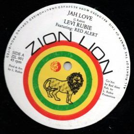 "(12"") LEVI RUBIE - JAH LOVE / SOME ONE"