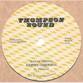 "(12"") JOHNNY OSBOURNE - MAN OF JAHOVIA / DUB VERSION"