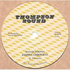 "(12"") JOHNNY OSBOURNE - MAN OF JAHOVIA / DUB VERSION"