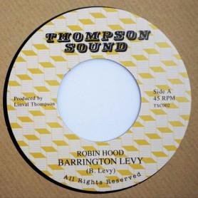 "(7"") BARRINGTON LEVY - ROBIN HOOD / VERSION"
