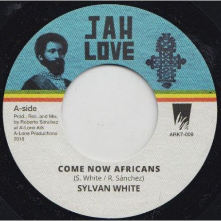 "(7"") SYLVAN WHITE - COME NOW AFRICANS / AFRICAN DUB"