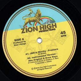 "(12"") PRESSURE - JAH IS WORTHY / ABA ARIGINAL"