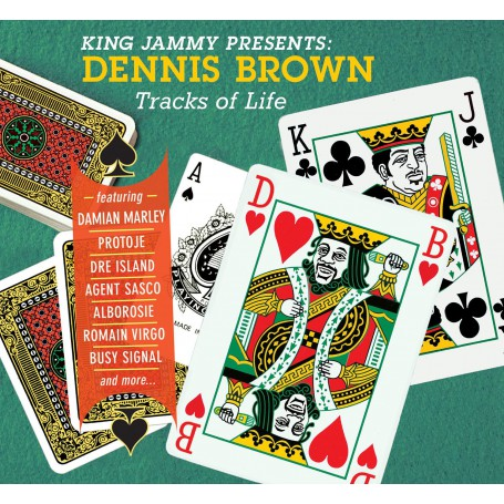 "(LP + 7"") KING JAMMY PRESENTS DENNIS BROWN - TRACKS OF LIFE"