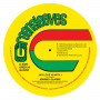 """(12"""") JOHNNY CLARKE - JAH LOVE IS WITH I / BAD DAYS ARE GOING"""