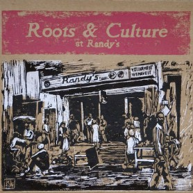 (LP) VARIOUS ARTISTS - ROOTS & CULTURE AT RANDY'S - LIMITED EDITION N°271
