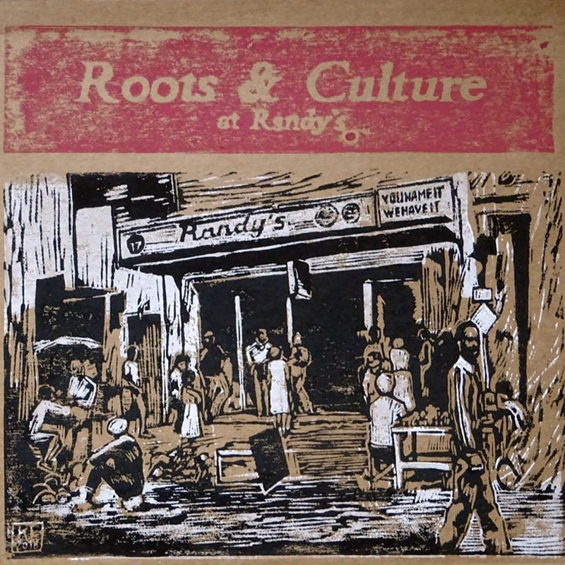 (LP) VARIOUS ARTISTS - ROOTS & CULTURE AT RANDY'S - LIMITED EDITION N°273