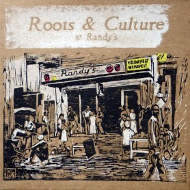 (LP) VARIOUS ARTISTS - ROOTS & CULTURE AT RANDY'S - LIMITED EDITION N°300