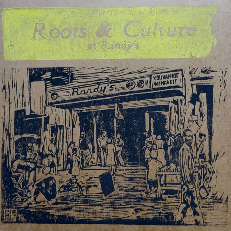 (LP) VARIOUS ARTISTS - ROOTS & CULTURE AT RANDY'S - LIMITED EDITION N°298