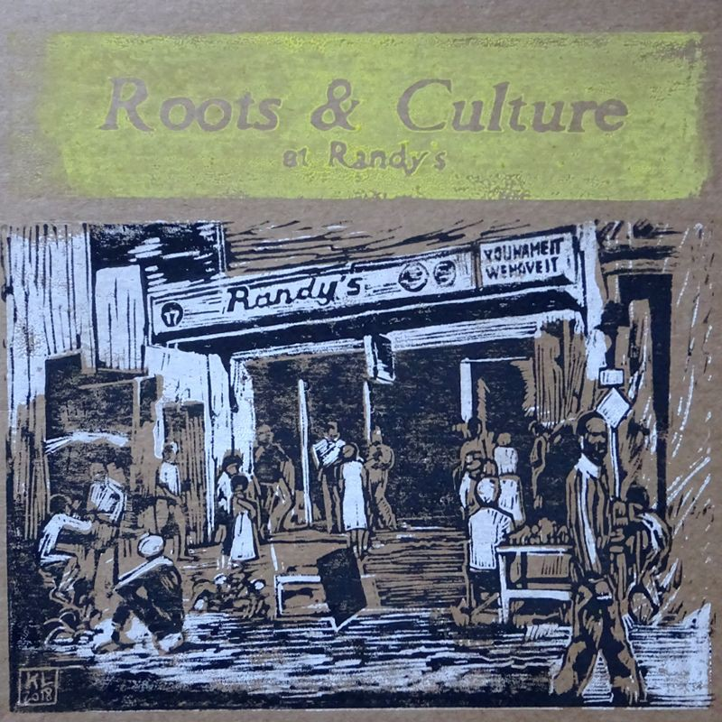 (LP) VARIOUS ARTISTS - ROOTS & CULTURE AT RANDY'S - LIMITED EDITION N°297