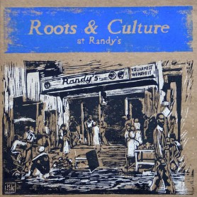 (LP) VARIOUS ARTISTS - ROOTS & CULTURE AT RANDY'S - LIMITED EDITION N°285
