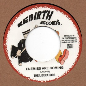 "(7"") THE LIBERATORS - ENEMIES ARE COMING / VERSION"