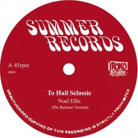 """(12"""") NOEL ELLIS - TO HAIL SELASSIE / STOP THE FIGHTING"""