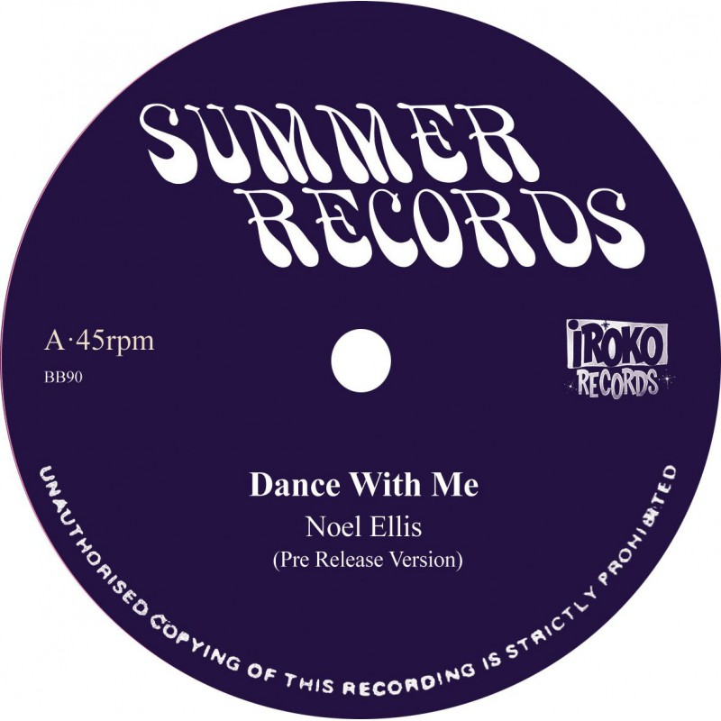 "(12"") NOEL ELLIS - DANCE WITH ME / MEMORIES"