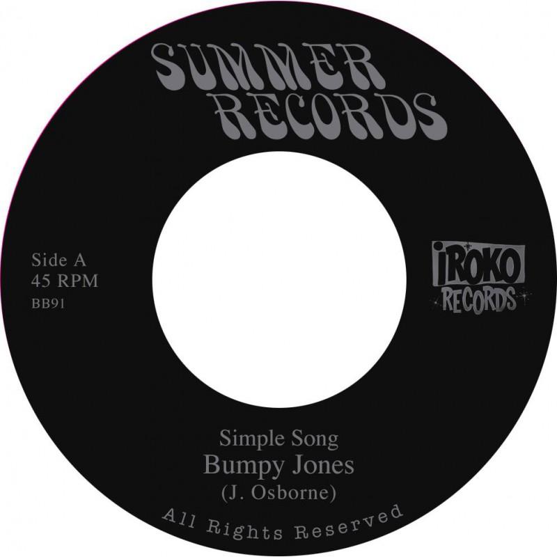 "(7"") BUMPY JONES AKA JOHNNY OSBOURNE / SIMPLE SONG / JAH JAH SYMPHONY IN B MINOR"