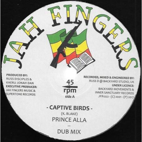 """(12"""") PRINCE ALLA - CAPTIVE BIRDS / NUCLEAR WAR"""