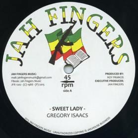 "(12"") GREGORY ISAACS - SWEET LADY / I DO"