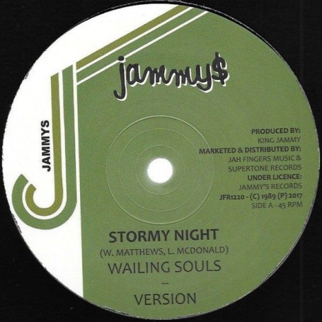 "(12"") WAILING SOULS - STORMY NIGHT / ROBERT LEE - LOVELY LADY"