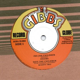"(10"") DHAIMA - INA JAH CHILDREN / DENNIS BROWN - A TRUE"