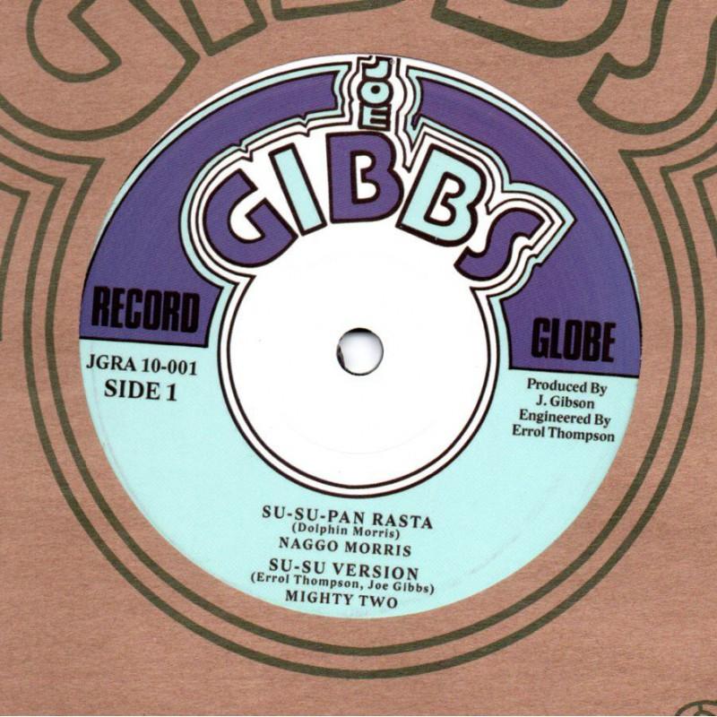 "(10"") NAGGO MORRIS - SU SU PAN RASTA / JACOB MILLER - I AM JUST A DREAD"