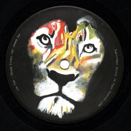 """(7"""") MICHAEL EXODUS FEAT JAMMA DIN - LION PAW / LION DUB"""