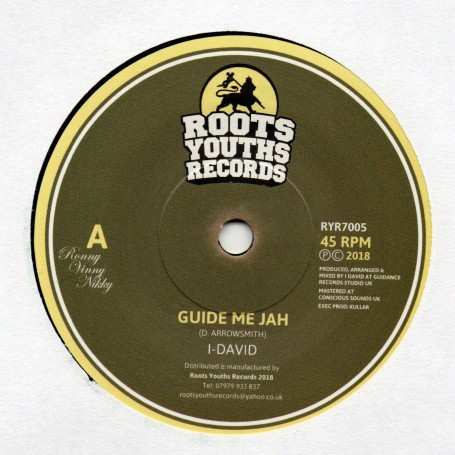 "(7"") I DAVID - GUIDE ME JAH / VERSION"