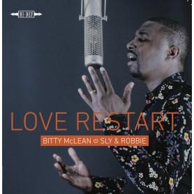 (LP) BITTY McLEAN MEETS SLY & ROBBIE - LOVE RESTART