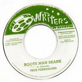 """(7"""") TRUE PERSUADERS - ROOTS MAN SKANK / EASTMAN DUB SKANK"""