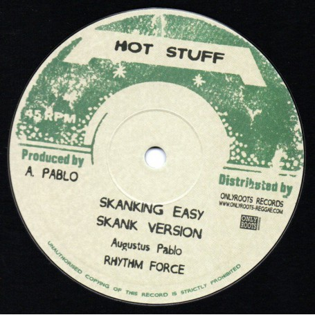 "(10"") AUGUSTUS PABLO - SKANKING EASY / YOUTH DELLINGER - DOWN TOWN ROCK"