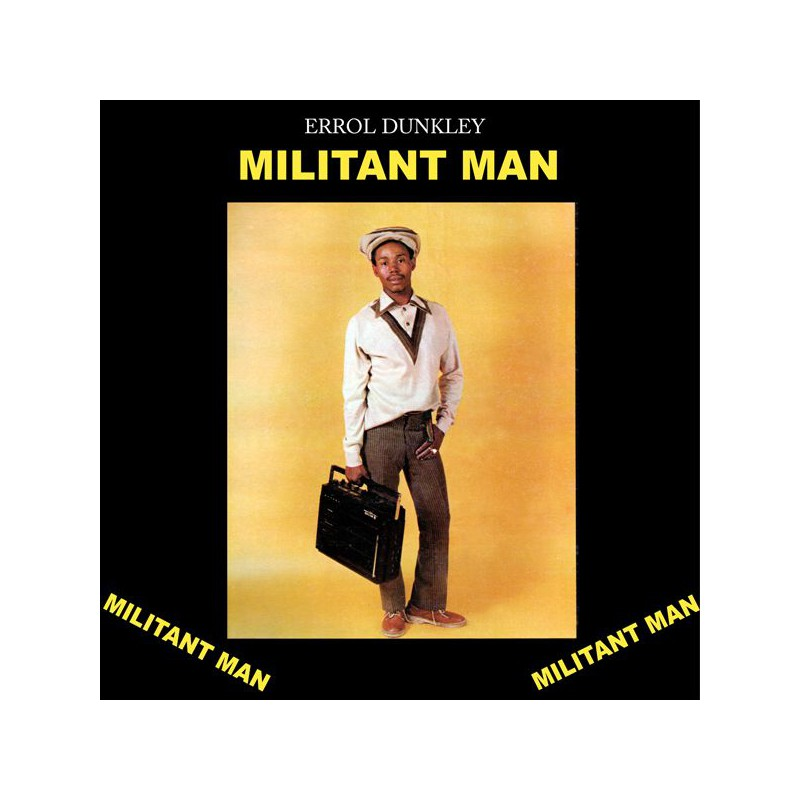 (LP) ERROL DUNKLEY - MILITANT MAN
