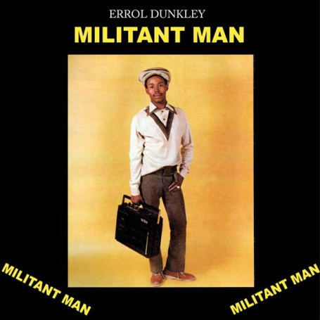 (LP) ERROL DUNKLEY - MILITANT MAN