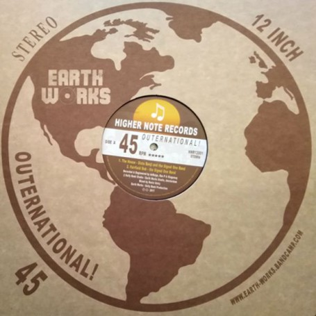 """(12"""") SISTA BENJI AND SIGNAL ONE BAND - THE HOUSE / RAS P - IN THE HOUSE OF THE FATHER"""
