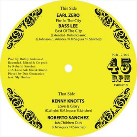 "(12"") EARL ZERO - FIRE IN THE CITY / KENNY KNOTS - LOVE & GLORY"