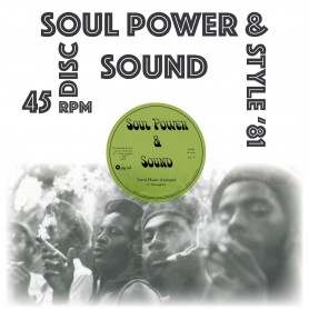 "(12"") SOUL POWER & SOUND - YARD MUSIC / TRAMPLE ROMANS"