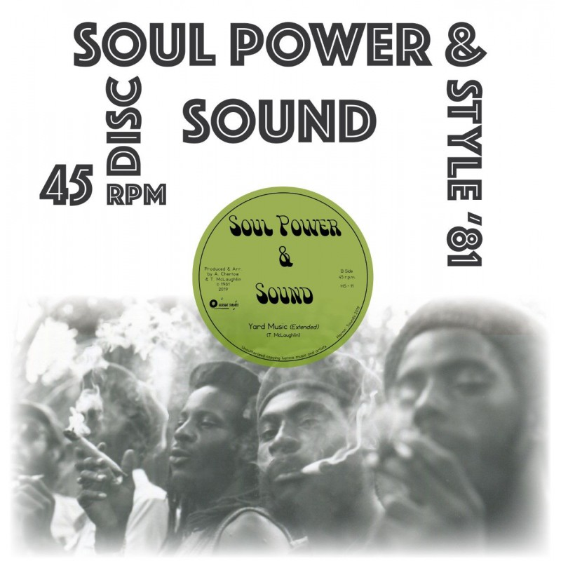 "(12"") SOUL POWER & SOUND - YARD MUSIC / TRAMPLE ROMANS"