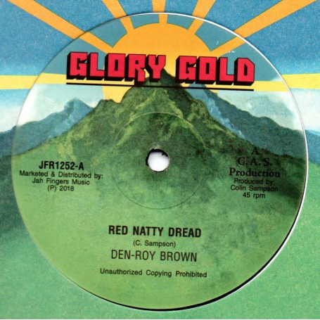 "(12"") DEN ROY BROWN - RED NATTY DREAD / JACLYN"