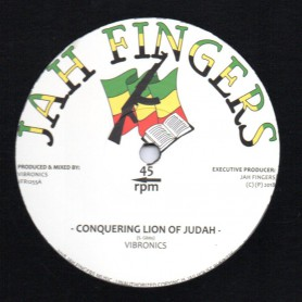 "(12"") VIBRONICS - CONQUERING LION OF JUDAH / DUB MIX"