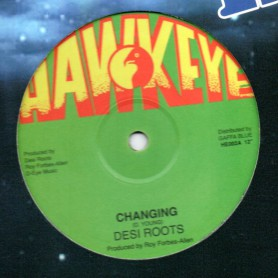 "(12"") DESI ROOTS - CHANGING / CHANGING DUB"