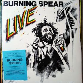 (LP) BURNING SPEAR - LIVE