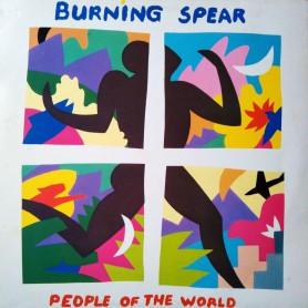 (LP) BURNING SPEAR - PEOPLE OF THE WORLD