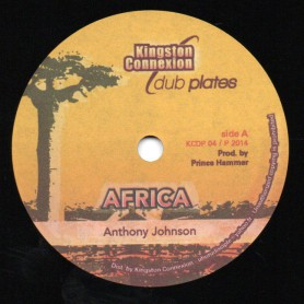 "(10"") ANTHONY JOHNSON - AFRICA / AFRICA RIDDIM"
