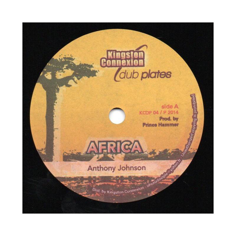 "(10"") ANTHONY JOHNSON - AFRICA / AFRICA RIDDIM"