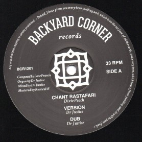 "(12"") DIXIE PEACH - CHANT RASTAFARI / PATRIXX MATICS - ARIGINAL RASTAMAN"