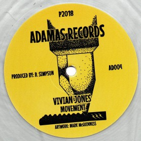 "(12"") VIVIAN JONES - MOVEMENT / DUB 1 & 2"