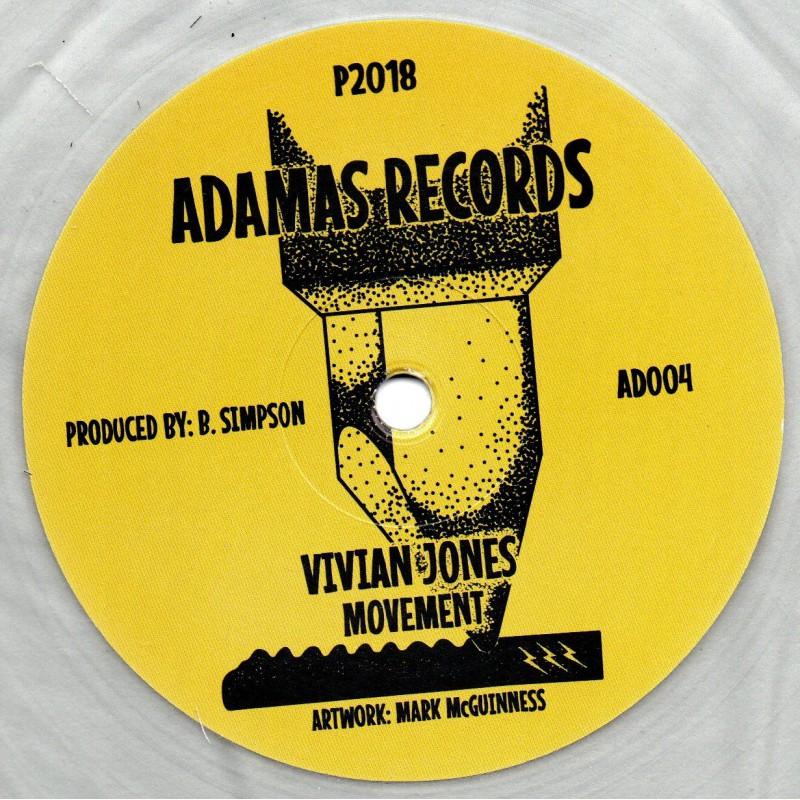 "(12"") VIVIAN JONES - MOVEMENT / DUB 1 & 2"