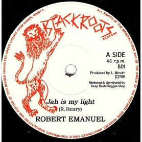 "(7"") ROBERT EMANUEL - JAH IS MY LIGHT / VERSION"