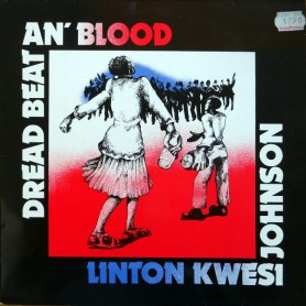 (LP) LINTON KWESI JOHNSON - DREAD BEAT AN BLOOD