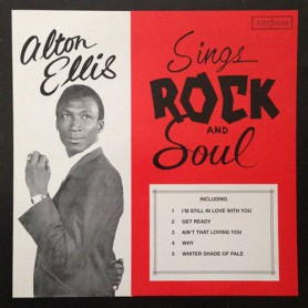 (LP) ALTON ELLIS - SINGS ROCK AND SOUL