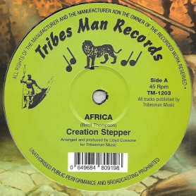 "(12"") CREATION STEPPER - AFRICA / PEBBLES - WA GO A AFRICA"